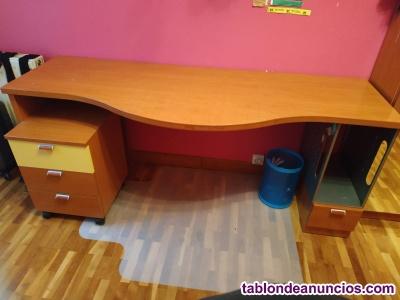 Camas nido y escritorio