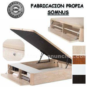 Canapé abatible de madera zapatero 150x190 mod.norma
