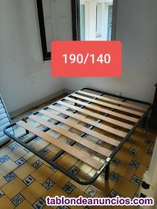 Estructura cama/ colchón ergostil