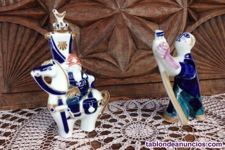 Figuras de porcelana de sargadelos certificadas