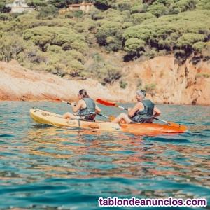 Instructor y guía de kayak en sitges y la costa brava