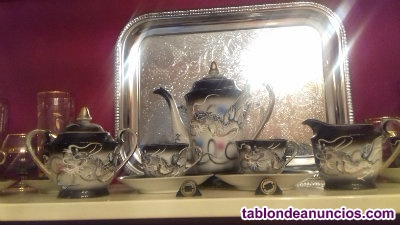 Juego de café en porcelana kutani