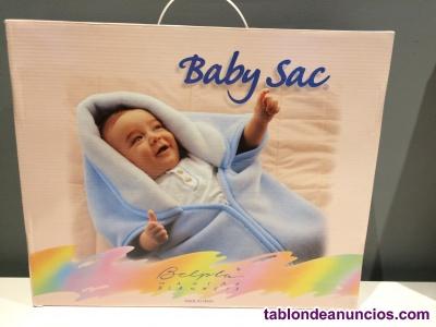 Manta saco para bebe - baby sac