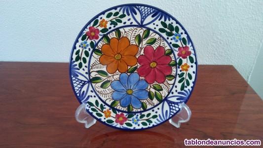 Plato de cerámica de 23 cm