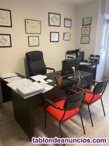 Se alquila oficina en goya-barrio salamanca, 170 euros