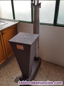 Se vende estufa de biomasa a estrenar muy economica