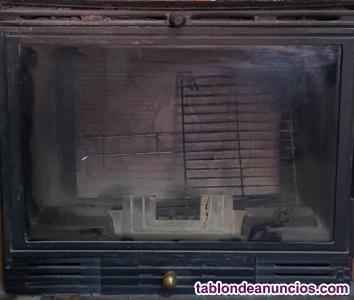 Se vende estufa/chimenea de leña