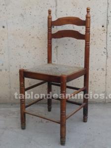 Sillas asiento enea (2 uds)