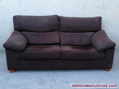 Sofá marrón 190cm