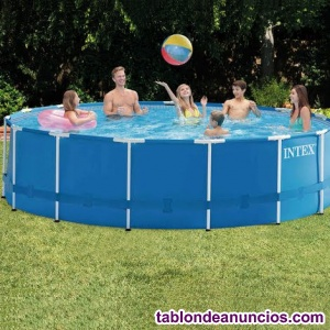 Vendo piscina 4,5 x 1,2 metros con depuradora de arena