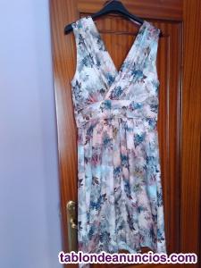 Vestido estampado floral trucco