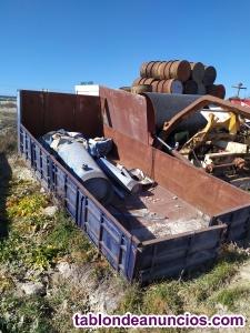 Caja de camion de 5 x 2,18 metros