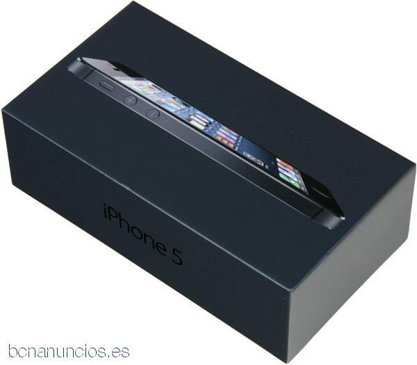 El iPhone de Apple 5 (último modelo) - 32GB - Negro y Slate