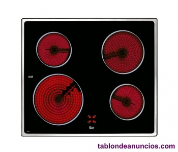 Vitroceramica teka de 4 zonas