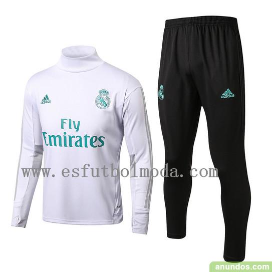 Real madrid blanco chandal con pantalones de futbol - Madrid