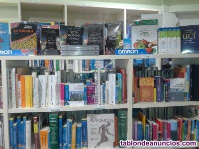Vendo tienda online de libros de ciencias de la salud,