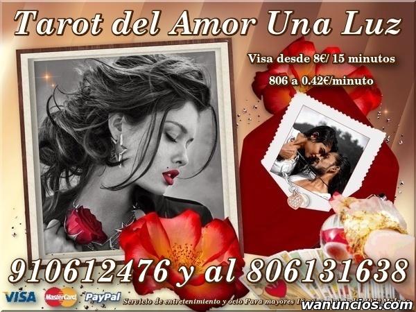Visa Econòmica UnaLuz. Tarot Sin mentiras. - Burgos