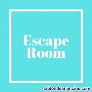 Se traspasa escape room en el centro de madrid