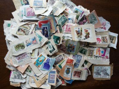 sellos matasellados españoles de los años 70 a los