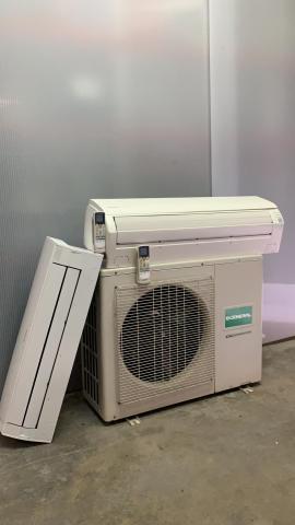 Aire ac. General split 2X1 inverter  frig