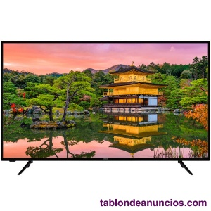 Hitachi televisor 58'' lcd led uhd 4k hdr smart tv