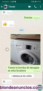 Servicio técnico de lavadora