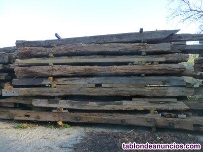Venta de madera de derribo de roble