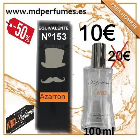 Perfume Equivalente Hombre Nº 153 Azarron alta gama 10€