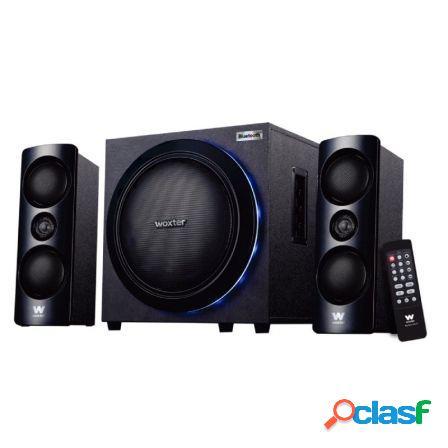 Altavoces 2.1 woxter big bass 500r - 150w - subwoofer -