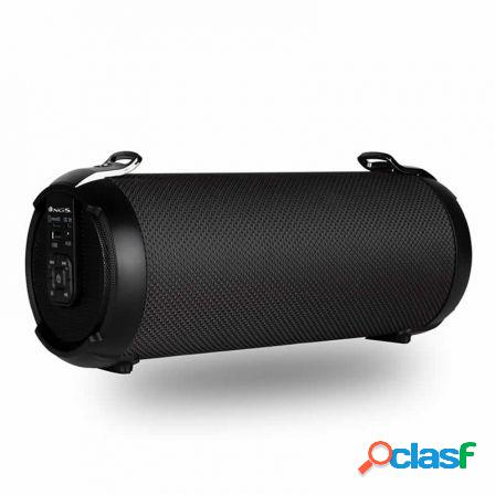Altavoz bluetooth ngs roller tempo black - bt 5.0 tws - 20w