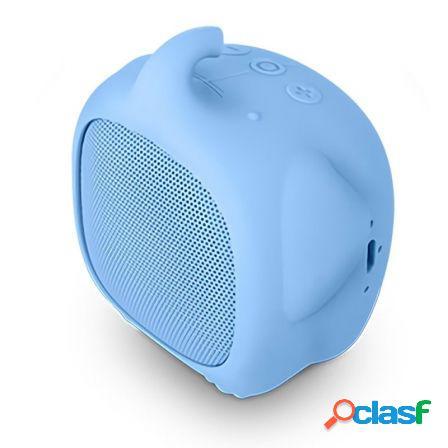 Altavoz bluetooth spc sound pups elephant pup azul - 3w -