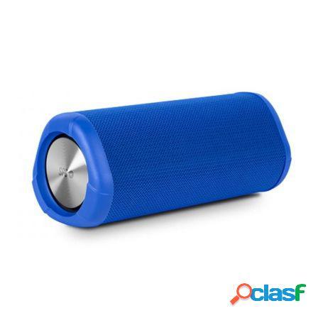 Altavoz bluetooth spc tube azul - 10w - bt4.2 - bat. 2500mah