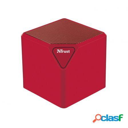 Altavoz bluetooth trust ziva wireless red - bateria - usb /