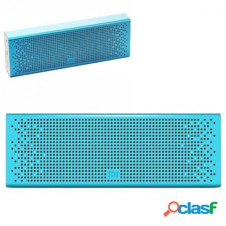 Altavoz bluetooth xiaomi mi speaker blue - 2x3w - drivers