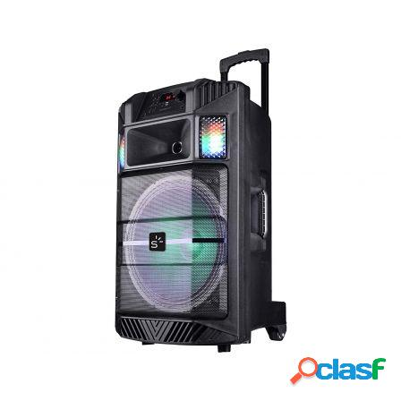 Altavoz trolley bluetooth sunstech massive-s30bk negro - 60w