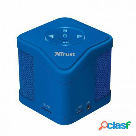 Altavoz trust urban muzo bluetooth blue - mp3 - micro sd -
