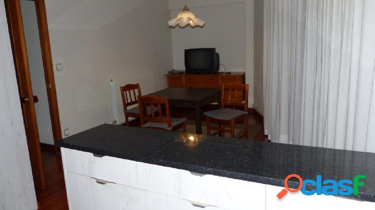 Amplio piso de alquiler en el centro. 3 habitaciones, baño