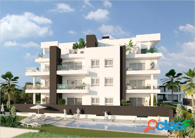 Apartamento de obra nueva en campo de golf Villamartin,