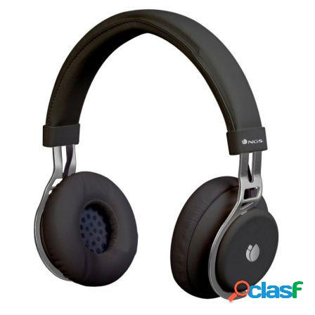 Auriculares bluetooth ngs artica lust black - alcance 10m -