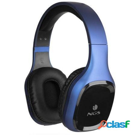 Auriculares bluetooth ngs artica sloth blue - bt5.0 -