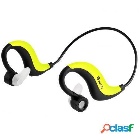 Auriculares deportivos por bluetooth yellow artica runner -