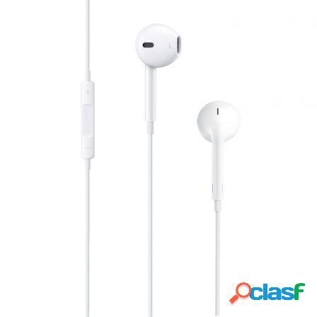 Auriculares earpods de apple con mando y microfono -