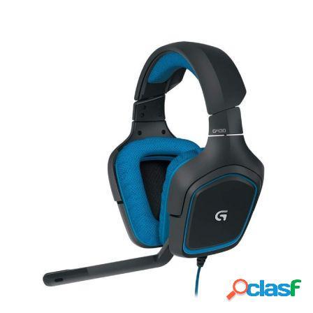 Auriculares gaming con microfono logitech g430 - sonido 7.1