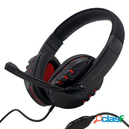 Auriculares gaming woxter stinger fx 80 h - drivers 40mm -