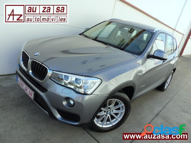 BMW X3 2.0d X-DRIVE AUT 190cv '16