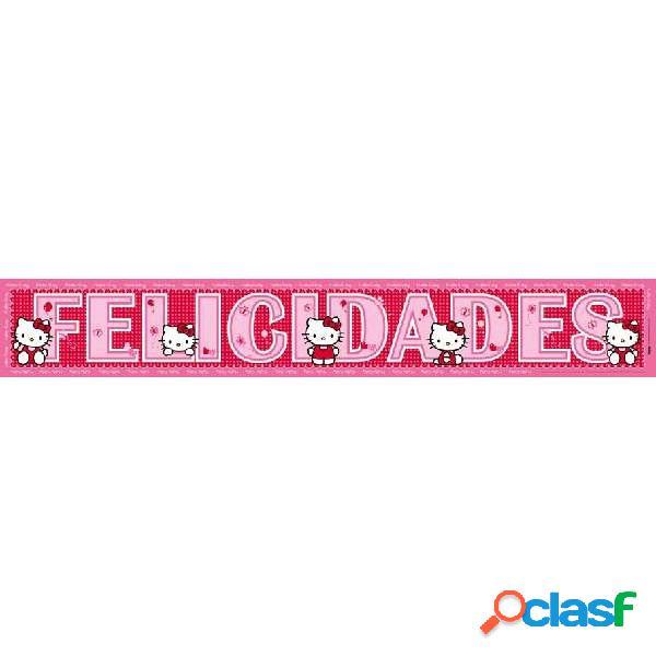 Bandas De Felicidades De Hello Kitty 2 Unidades