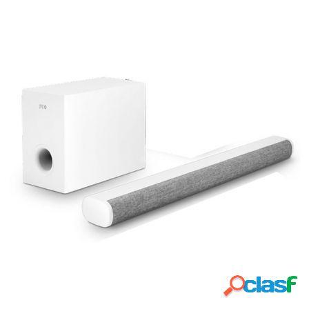 Barra de sonido spc suana blanca - 100w - canales 2.1 -