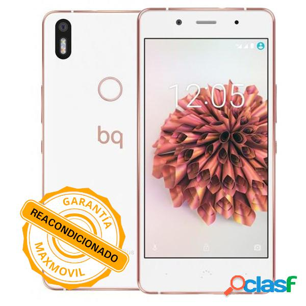 Bq aquaris x5 plus 4g reacondicionado (16 + 2gb) blanco/rosa