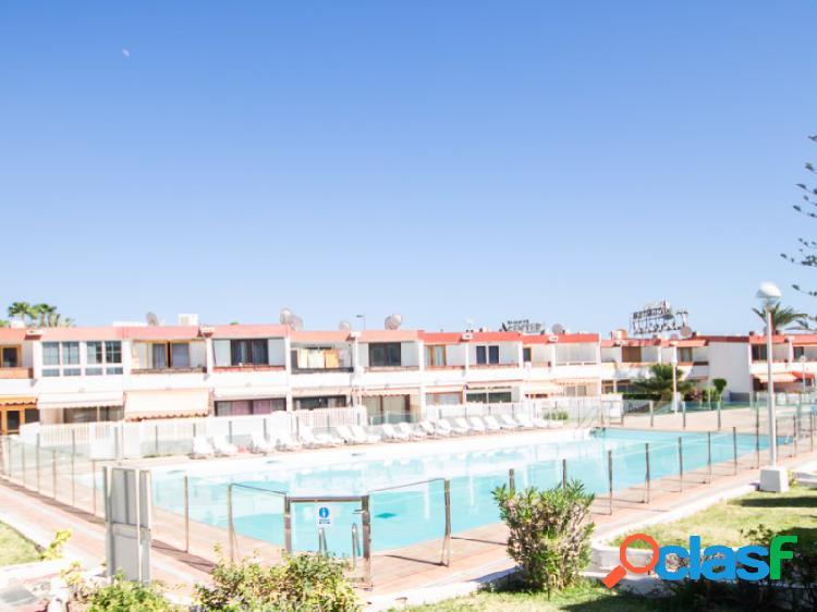 Bungalow de dos dormitorios en Playa del Inglés.