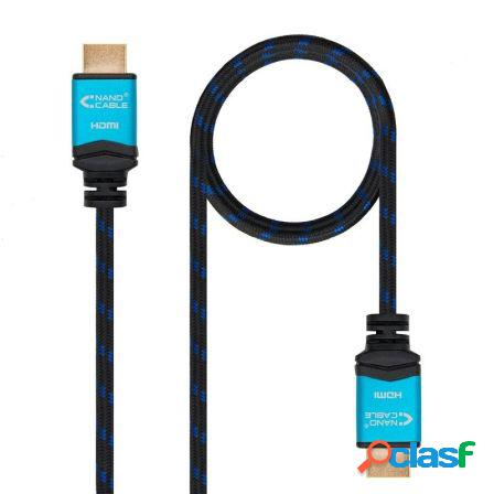 Cable hdmi nanocable 10.15.3700 - v2.0 - conectores hdmi